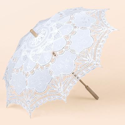 結婚式の傘
