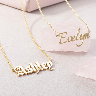 Ожерелья с именем