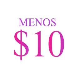 Menos $10