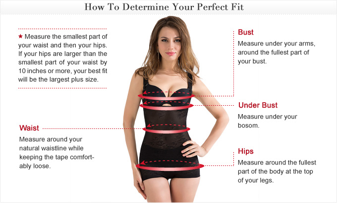 Lingerie Measuring Guide