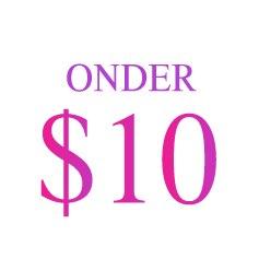 Onder $10